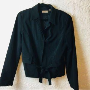 Sexy Black i.e.  tie at waist Jacket size 14 B6